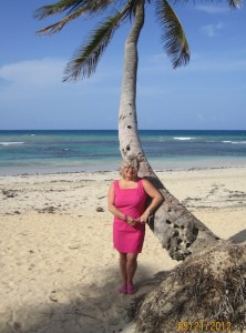 Sandy Miller, Divorce Coach, at the beach